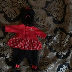 Disney newborn Minnie outfit
